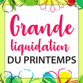 Liquidation Printemps
