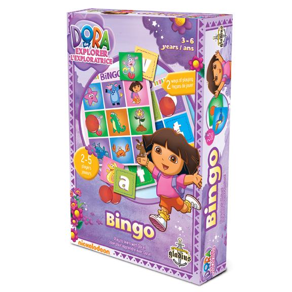 Jeux de soci t dora bingo dora the explorer ditions - Jeux de dora 2015 ...