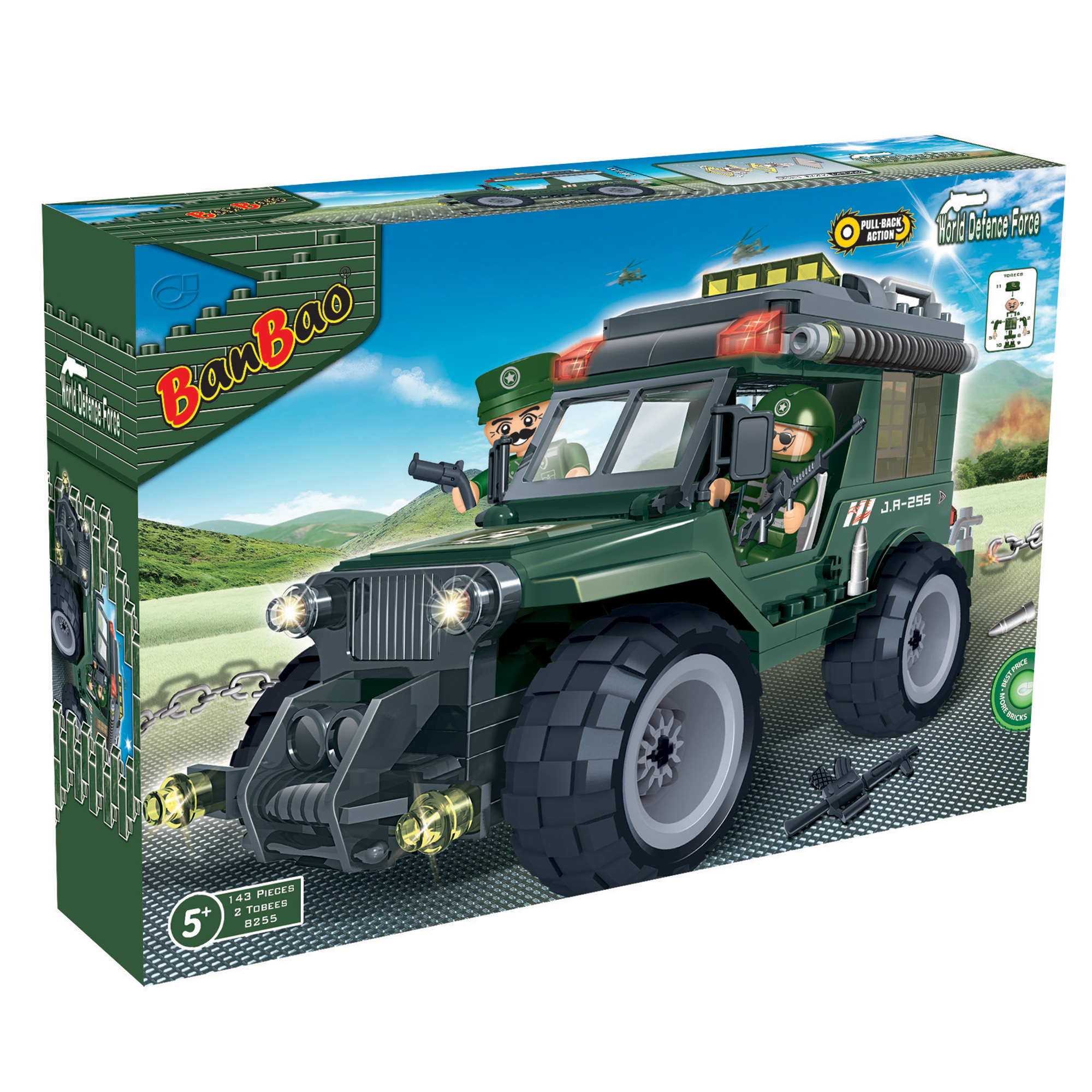 Defence Force - Jeep Militaire