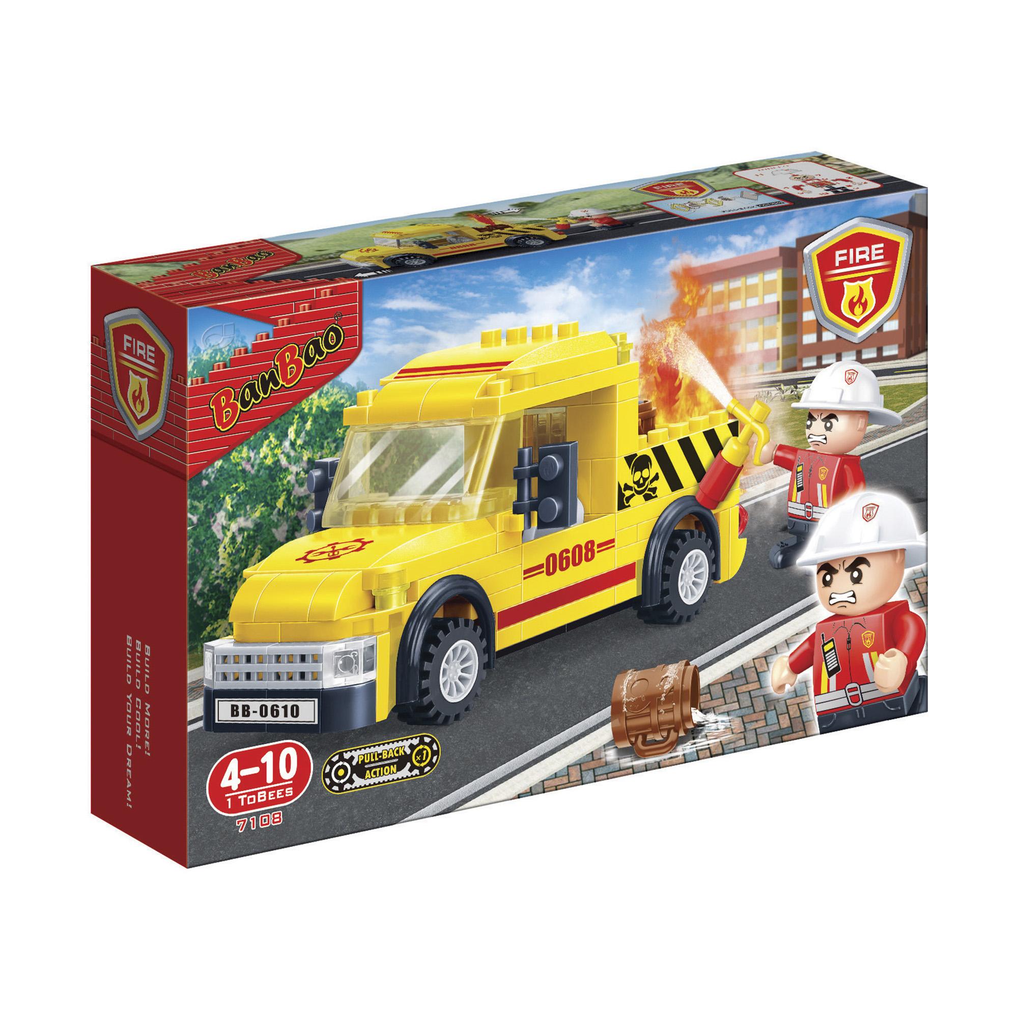 jeux de soci t fire camion transport pompier blocs de construction ditions gladius. Black Bedroom Furniture Sets. Home Design Ideas