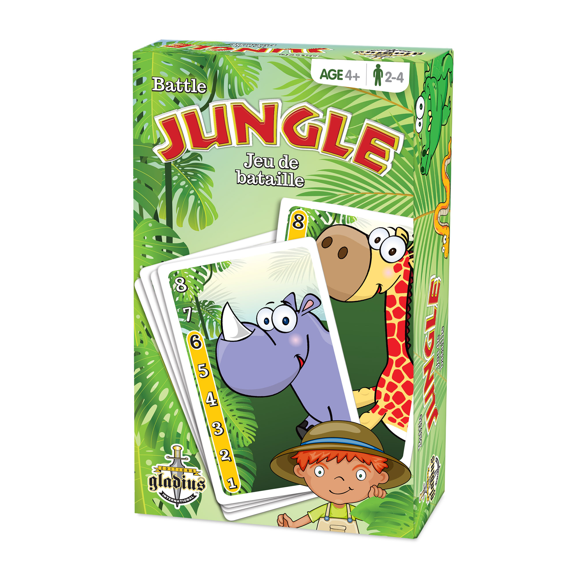 Jeu de bataille - Jungle boîte / Battle Game - Jungle box