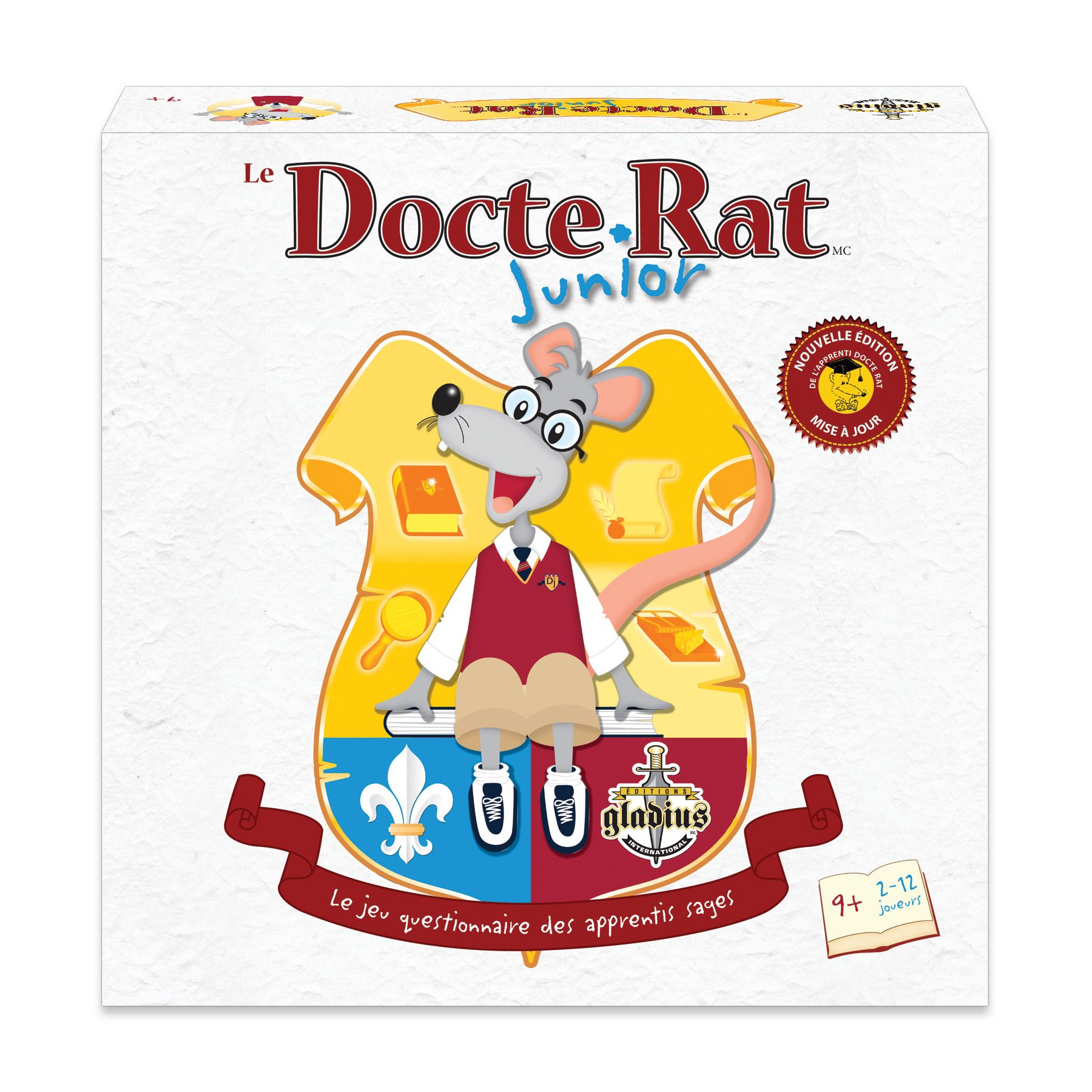Docte Rat Junior boîte / Docte Rat Junior box