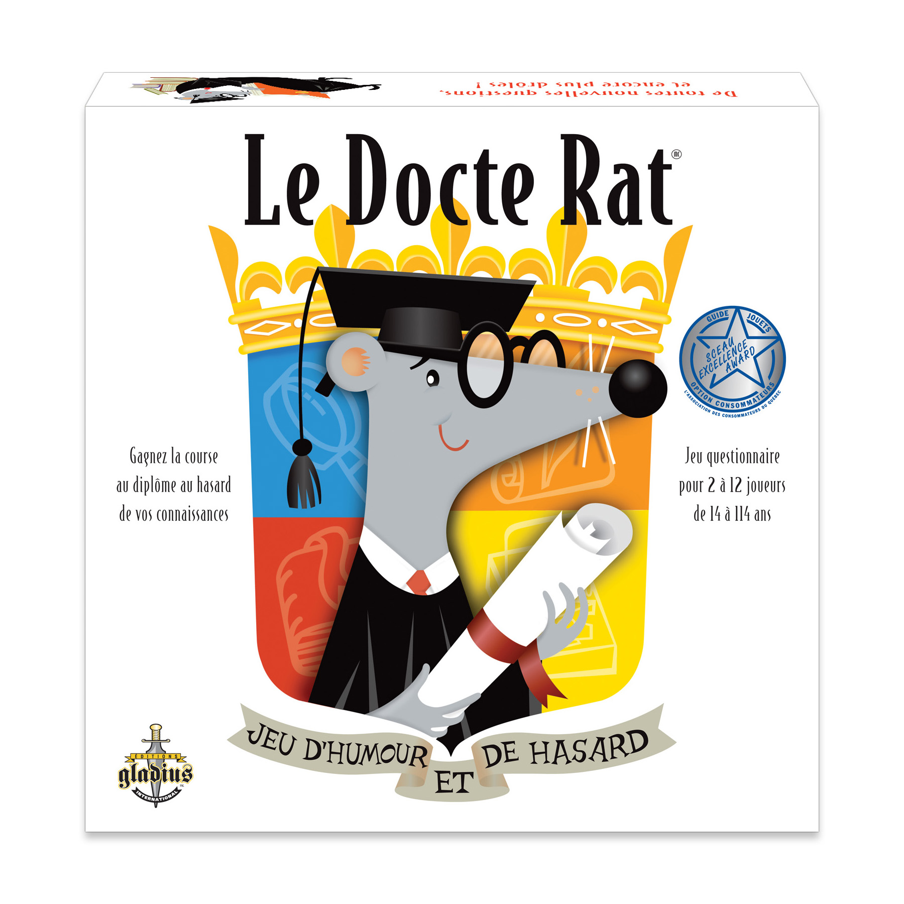 Le Docte Rat boîte / Le Docte Rat box