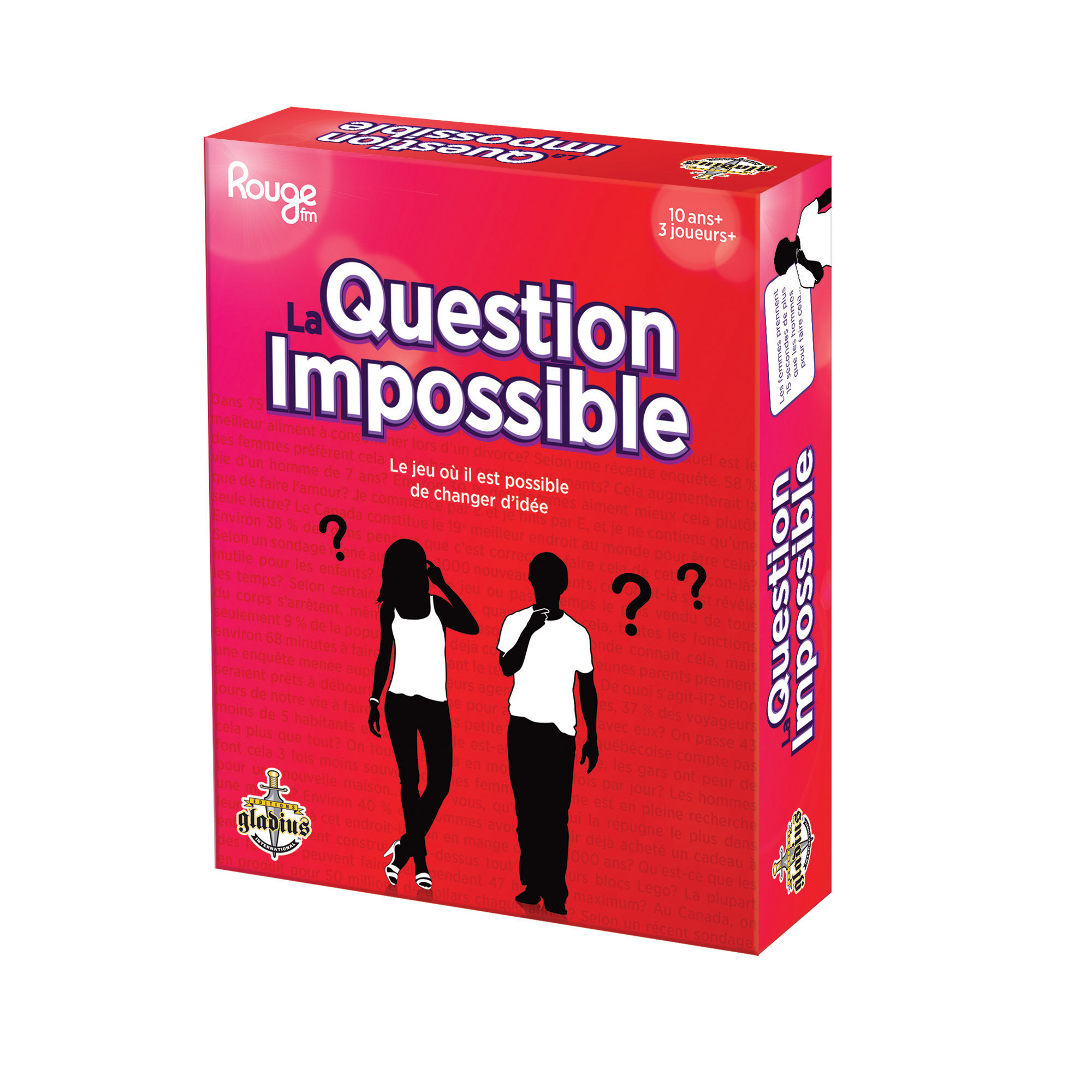 La Question Impossible boîte / La Question Impossible box