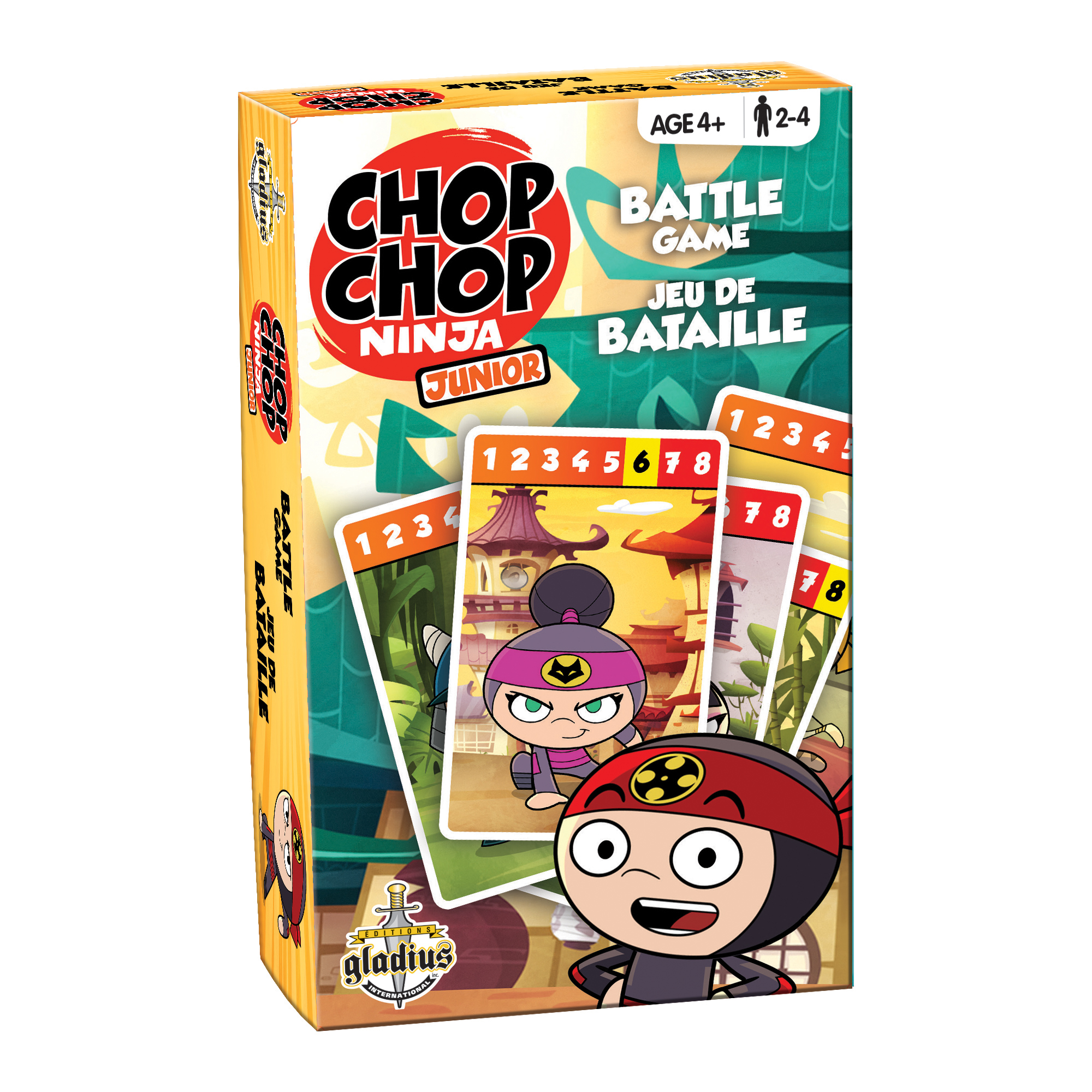 Jeu de bataille - Chop boîte / Battle Game - Chop box
