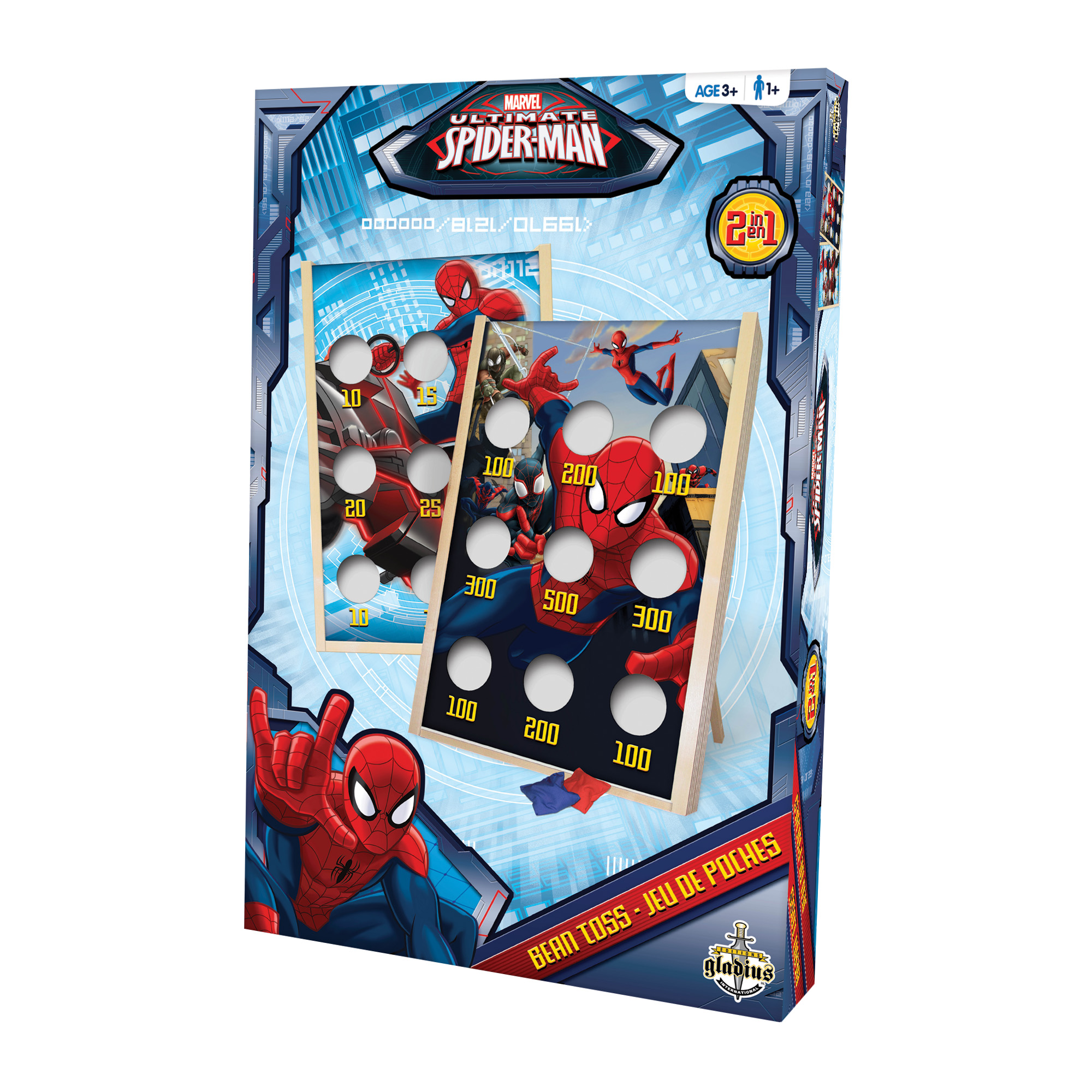 jeux de soci t jeu de poches spider man habilet ditions gladius. Black Bedroom Furniture Sets. Home Design Ideas