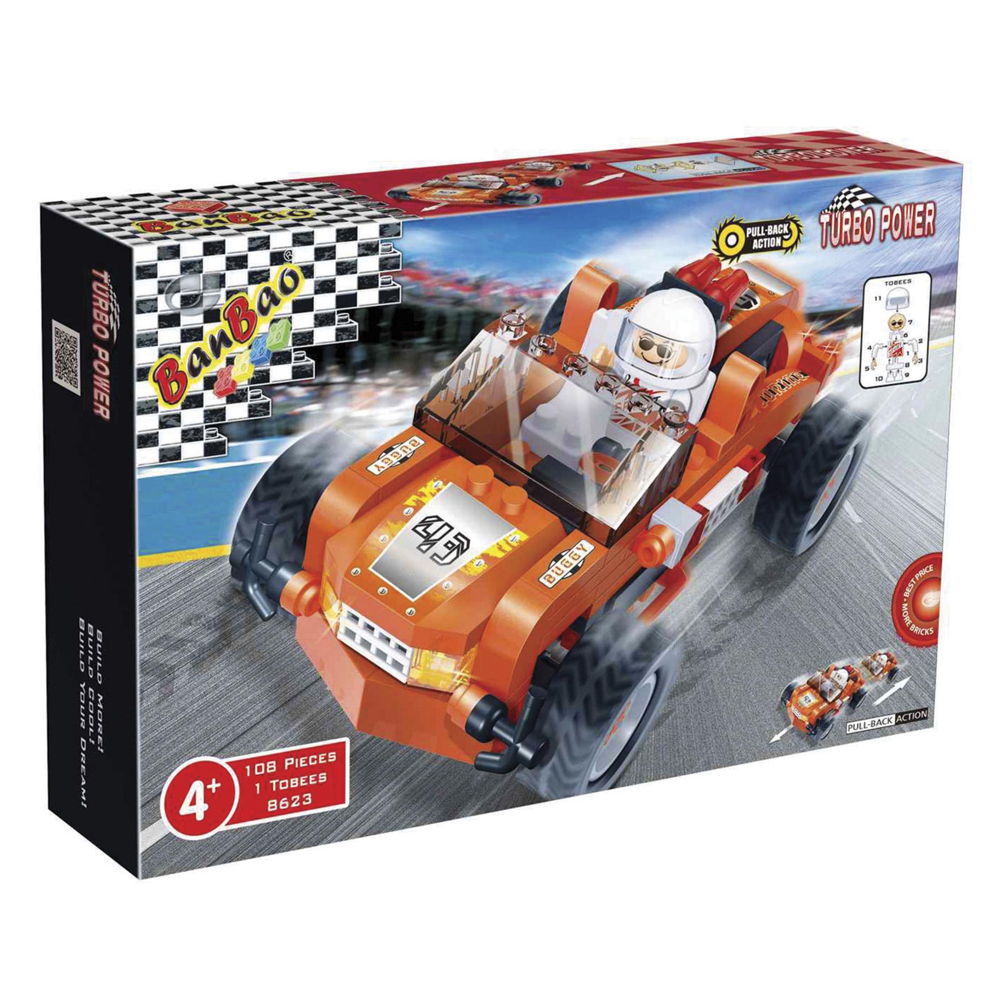 jeux de soci t turbo power auto buggy orange enfants ditions gladius. Black Bedroom Furniture Sets. Home Design Ideas