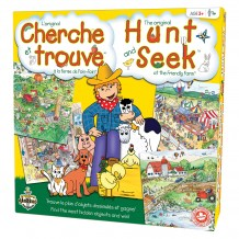 Cherche et trouve - La ferme de Foin-Foin boîte / Hunt and Seek - The Friendly Farm box