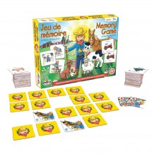 Jeu de mémoire - La Ferme de Foin-Foin contenu / Memory Game - The Friendly Farm content