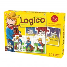 Logico - La Ferme de Foin-Foin boîte / Logico - The Friendly Farm box