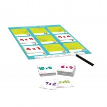 Collection Apprendre - Les multiplications contenu / Learn Collection - Multiplication Game content