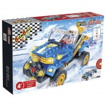 Turbo Power - Auto snow buggy bleu
